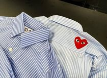 COMME des GARCONS Shirts Collaboration Long Sleeves Logo Designers Shirts 8