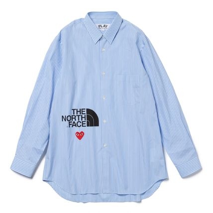 COMME des GARCONS Shirts Collaboration Long Sleeves Logo Designers Shirts 2