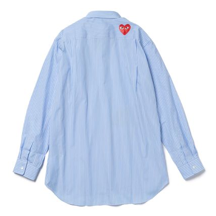 COMME des GARCONS Shirts Collaboration Long Sleeves Logo Designers Shirts 3