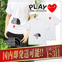 COMME des GARCONS Plain Short Sleeves Logo Designers T-Shirts