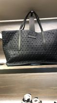 Jimmy Choo Star Unisex Street Style Leather Totes