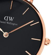 Daniel Wellington Casual Style Round Party Style Quartz Watches Stainless