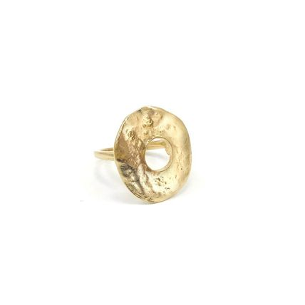 Casual Style Brass Office Style 14K Gold Elegant Style Rings