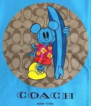 Coach More T-Shirts Monogram Collaboration Other Animal Patterns Cotton 4