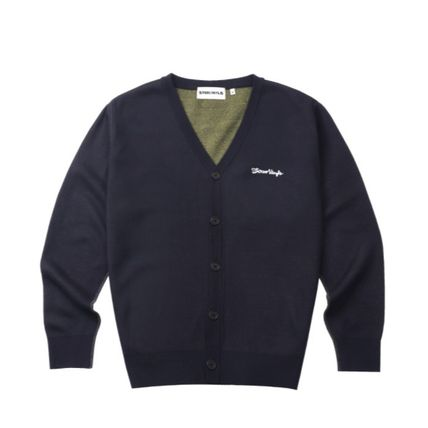 Collaboration Plain Cardigans