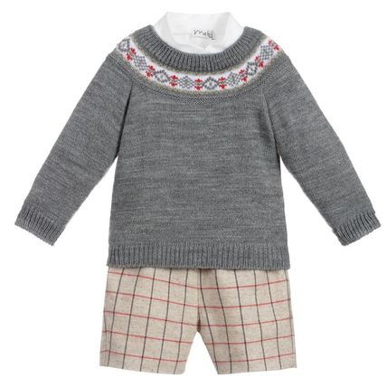 Blended Fabrics Co-ord Party Bridal Kids Boy