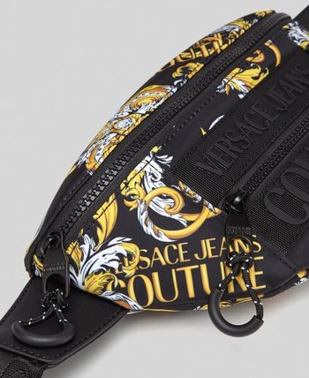 VERSACE Street Style Crossbody Logo Hip Packs