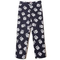 OBEY Printed Pants Street Style Collaboration Bi-color Plain