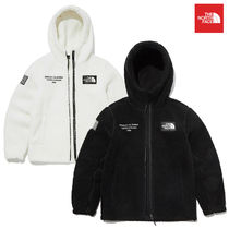THE NORTH FACE Short Casual Style Unisex Blended Fabrics Street Style Logo