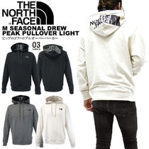 THE NORTH FACE Pullovers Unisex Street Style Long Sleeves Cotton Oversized