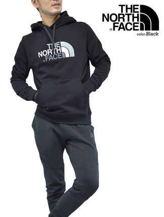 THE NORTH FACE Hoodies Pullovers Unisex Street Style Long Sleeves Cotton Oversized 5