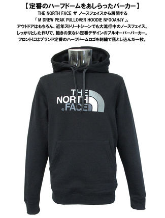 THE NORTH FACE Hoodies Pullovers Unisex Street Style Long Sleeves Cotton Oversized 11