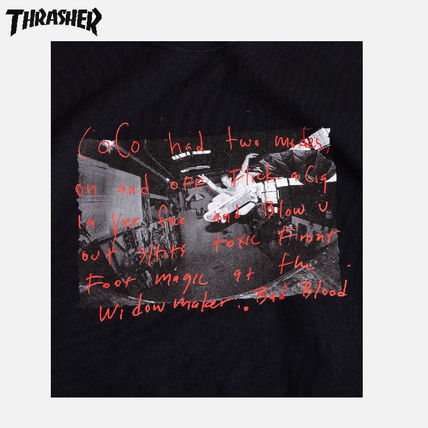 THRASHER More T-Shirts Street Style Skater Style T-Shirts 3