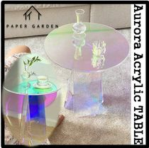 PAPER GARDEN Clear Furniture Night Stands Table & Chair