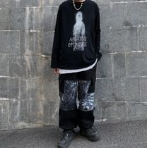 Printed Pants Street Style Tie-dye Oversized Patterned Pants