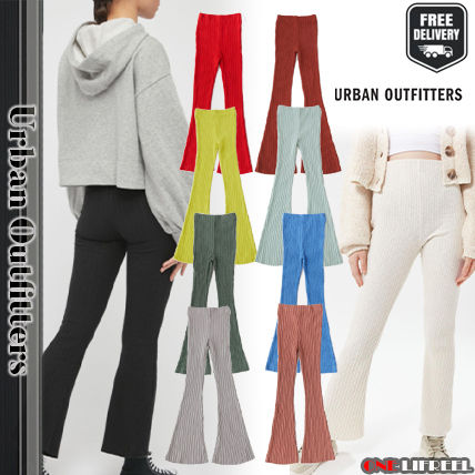 Urban Outfitters Casual Style Plain Cotton Long Office Style Culottes