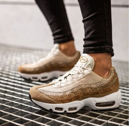 Nike AIR MAX 95 Rubber Sole Casual Style Unisex Other Animal Patterns