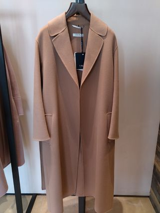 S Max Mara Casual Style Wool Plain Handmade Party Style Office Style