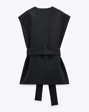 ZARA Casual Style Formal Style  Vests