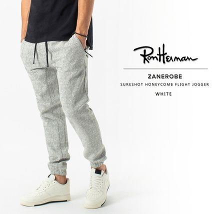 Ron Herman Street Style Plain Cotton Joggers & Sweatpants