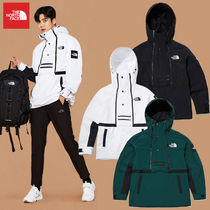 THE NORTH FACE WHITE LABEL Short Unisex Street Style Logo Anorak Jackets Jackets