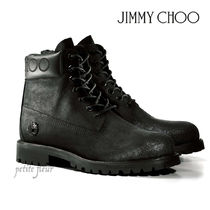 Jimmy Choo Mountain Boots Collaboration Plain Logo Outdoor Boots