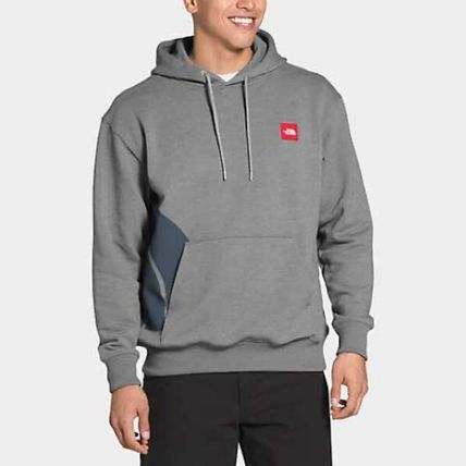 THE NORTH FACE Pullovers Street Style Long Sleeves Cotton Logo Outdoor