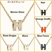 HERMES Casual Style Office Style Elegant Style Necklaces & Pendants