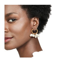 TIMELESS PEARLY Earrings Casual Style Party Style Brass Office Style Elegant Style 4