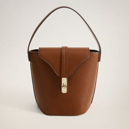 Formal Style  Office Style Elegant Style Shoulder Bags