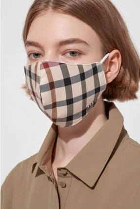 Gingham Face Masks