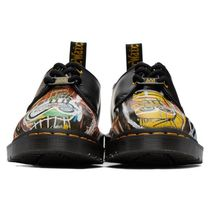 Dr Martens 1461 Round Toe Rubber Sole Casual Style Unisex Street Style