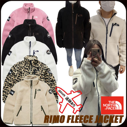 THE NORTH FACE RIMO Casual Style Unisex Logo Fleece Jackets Jackets