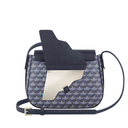 Casual Style Leather Office Style Elegant Style Crossbody