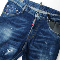 D SQUARED2 Skinny Tapered Pants Street Style Skinny Jeans 4