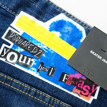 D SQUARED2 Skinny Tapered Pants Street Style Skinny Jeans 6