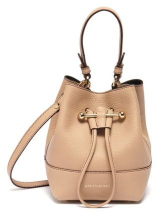 Casual Style 2WAY Leather Purses Office Style Elegant Style
