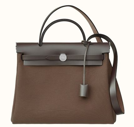 HERMES Casual Style 3WAY Leather Elegant Style Shoulder Bags