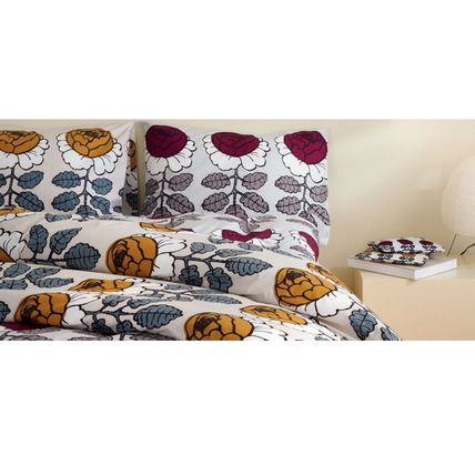 marimekko Flower Patterns Unisex Pillowcases Comforter Covers Co-ord