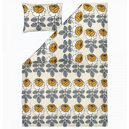 Flower Patterns Unisex Pillowcases Comforter Covers Co-ord