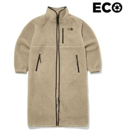 THE NORTH FACE Unisex Street Style Long Logo Coats