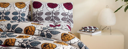 marimekko Flower Patterns Pillowcases Comforter Covers Co-ord