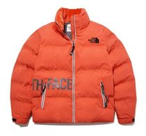 THE NORTH FACE Unisex Street Style Plain Oversized Down Jackets