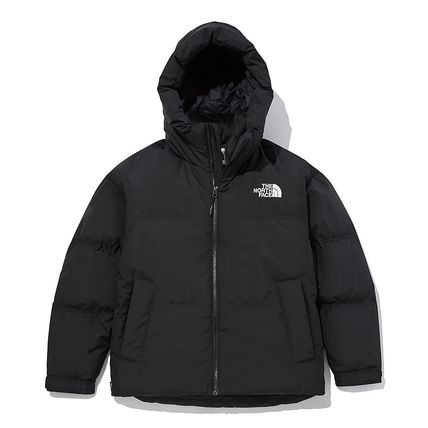 THE NORTH FACE WHITE LABEL Street Style Plain Logo Down Jackets