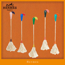 HERMES petit h Feather Duster