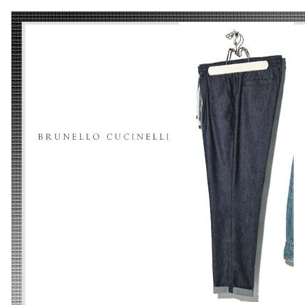 BRUNELLO CUCINELLI More Jeans Wool Plain Jeans