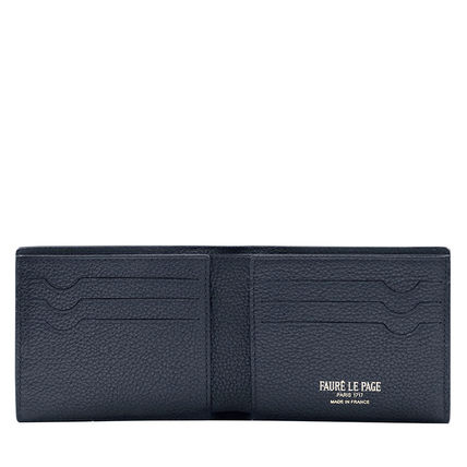 Leather Folding Wallet Logo Folding Wallets