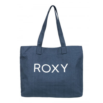 ROXY Casual Style A4 Plain Totes