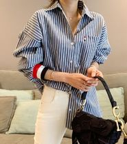 Stripes Long Shirts & Blouses