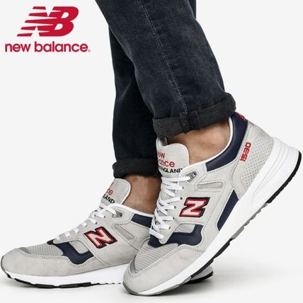 Shop New Balance 1530 2020-21FW Logo Unisex Suede Leather Sneakers ...